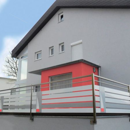 Zaun als Sichtschutz für Terrasse