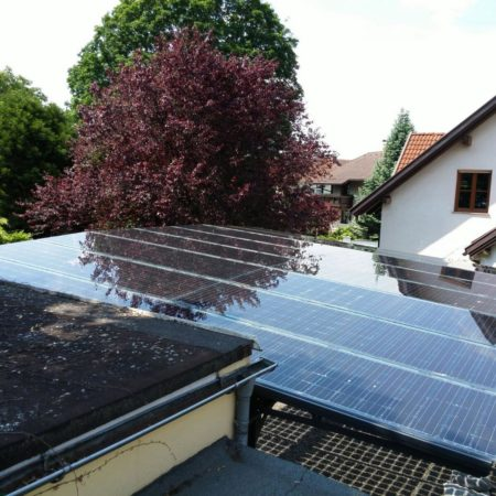 Integriertes Photovoltaik