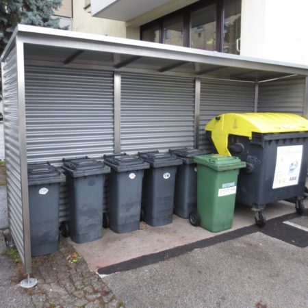 Mülleinhausung