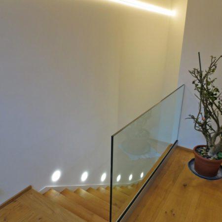 Nur-Glas Geländer