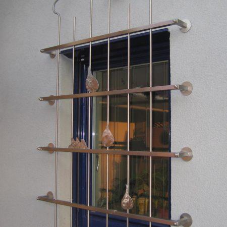 Fenstergitter trotz Vollwärmeschutz