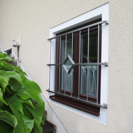 Formschöne Gitter zur Sicherheit