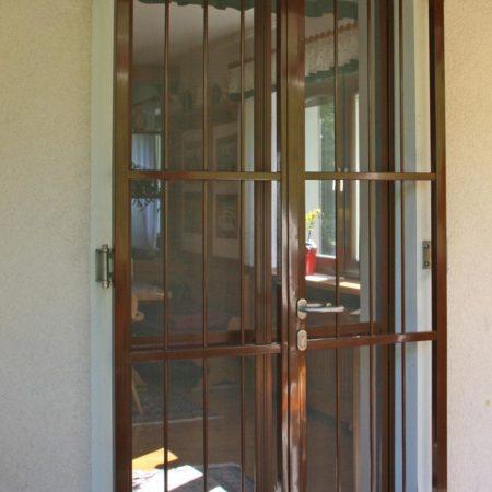 Widerstandsfähigkeit bei Gittertüren