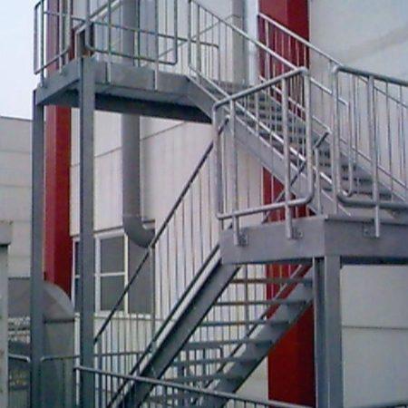 Stiegen- und Podestkonstruktionen