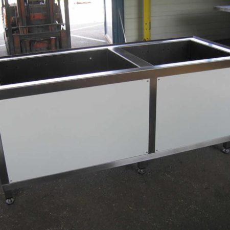 Beckenkonstruktion für Labore