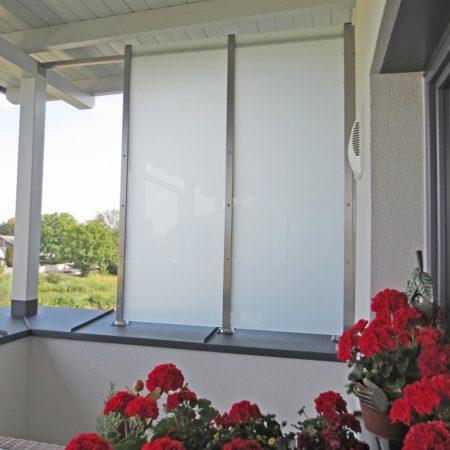 Windschutz für Balkone