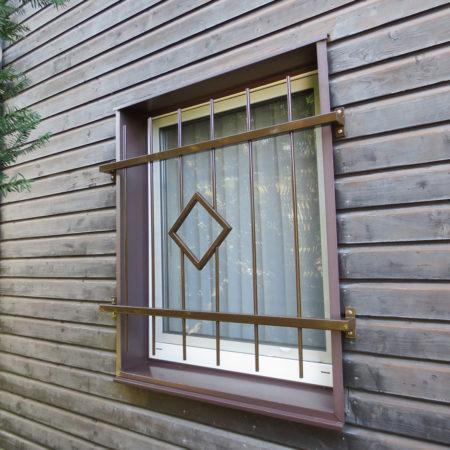 Passende Fenstergitter